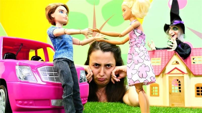 Barbie oyunları. Sevcan Barbie ve Ken e şaka yapıyor