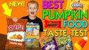 Pumpkin Spice Ruffles!! Yummy Fall Foods Taste Challenge || Family Fun Pack