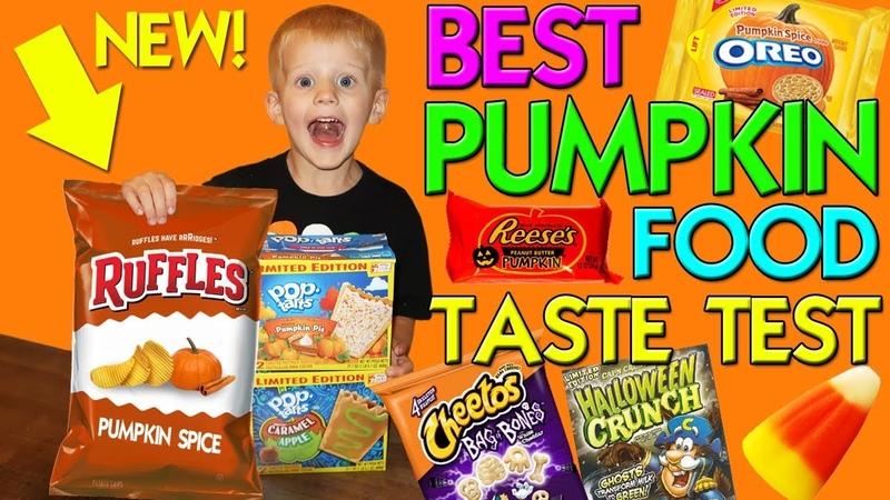 Pumpkin Spice Ruffles Yummy Fall Foods Taste Challenge Family Fun Pack