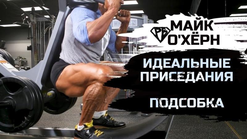Майк ОХёрн. ИДЕАЛЬНЫЕ ПРИСЕДАНИЯ (ч. 2) Увеличение рабочих весов Подсобка Тренировка ног