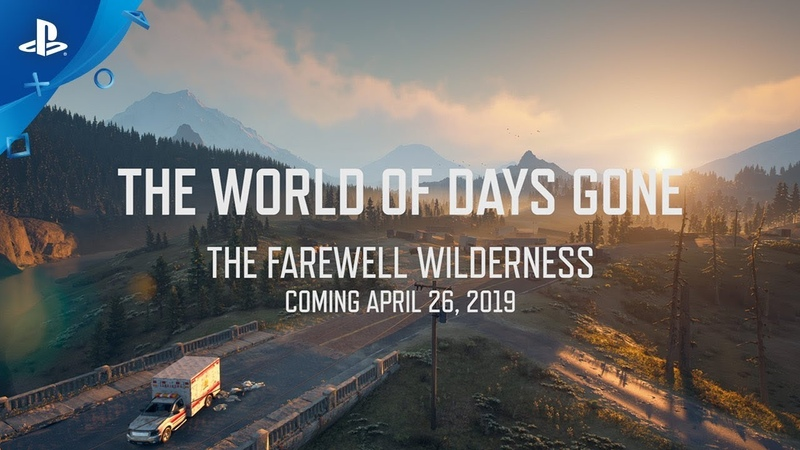Days Gone – World Series The Farewell Wilderness   PS4