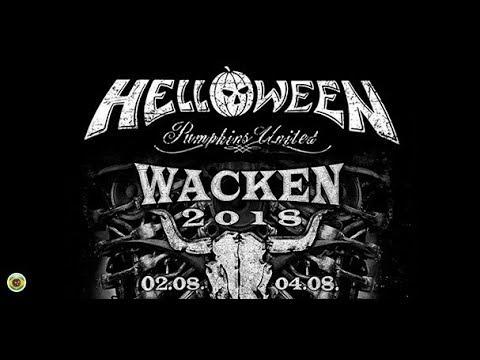 Тыквы, Великие и Ужасные - Helloween Wacken 2018 Full HD