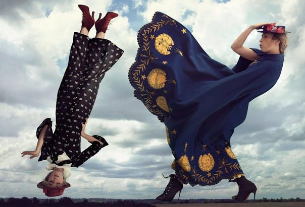 Emily Blunt and Lin-Manuel Miranda Vogue Magazine, December 2018