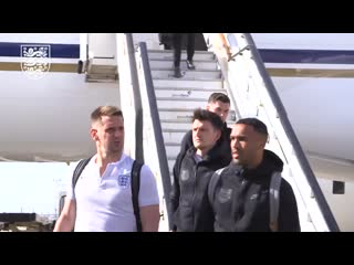 - - go behind the scenes as the threelions made their way to portugal for the nationsleag
