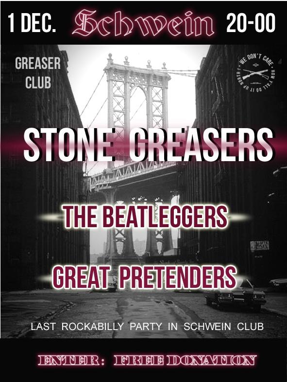 01.12 Stone Greasers в клубе Schwein!