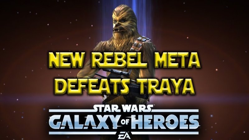 Legendary Chewbacca Defeats Traya - Meta Changing - Star Wars: Galaxy Of Heroes - SWGOH