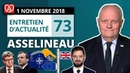 EA73 Macron et les années 30 Essence Mélenchon Alsace Brexit OTAN Université