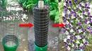 Вертикальный цветник клумба для дачи
