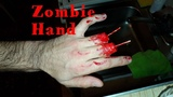 ZOMBIE MAKEUP HANDS WITHOUT FINGERS! ЗОМБИ МАКИЯЖ РУКИ БЕЗ ПАЛЬЦЕВ