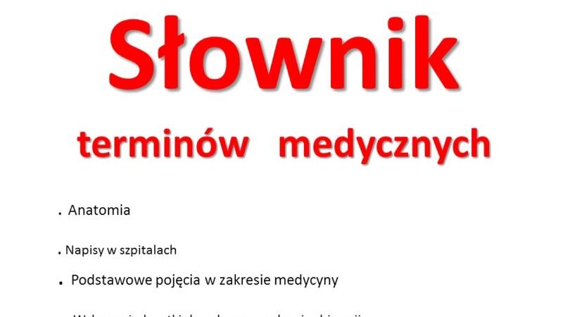 Польско - русский медицинский словарь