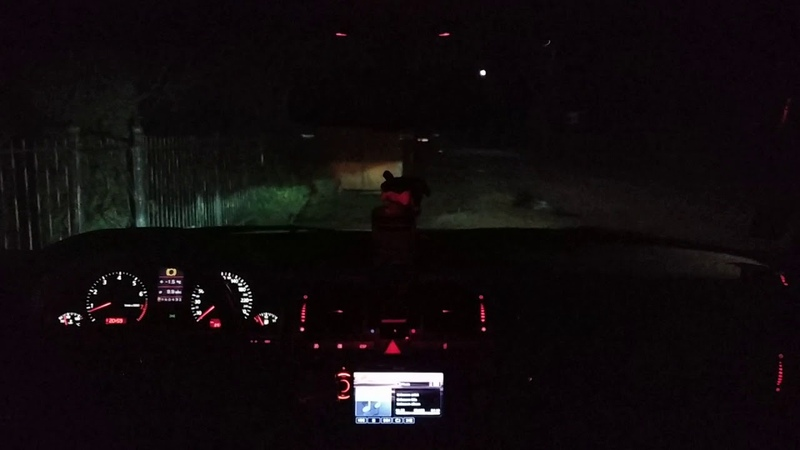 Audi A8 D2 2.8 2000 interior at night. Love it... :-) Part 2