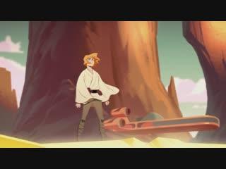 Galaxy of Adventures Luke Skywalker - The Journey Begins