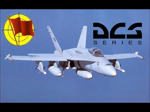 DCS World: F/A-18C Hornet - Часть 15 - Выключение самолета на стоянке (перевод)