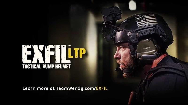 Team Wendy EXFIL LTP (Lightweight, Tactical, Polymer) bump helmet