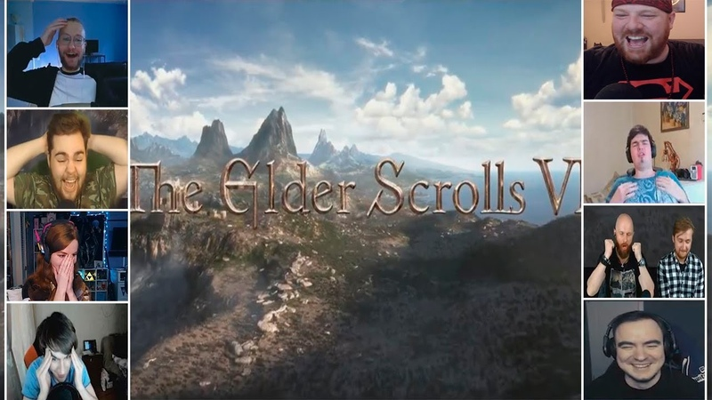 Реакция Ютуберов на Анонс The Elder Scrolls 6