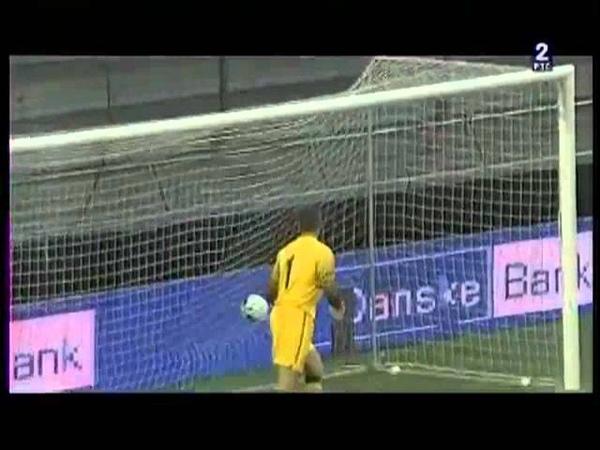 (U-21) Denmark- Serbia (1-1) Euro Goal Nikola Ninkovic (07. 09 2012)