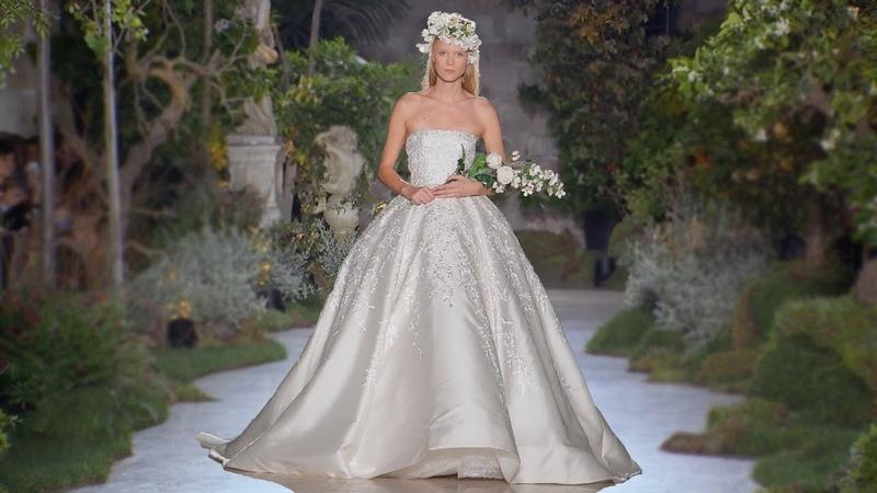 Reem Acra Bridal 2019 Barcelona Bridal Fashion Week 2018
