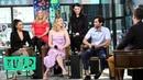 Penn Badgley Shay Mitchell Elizabeth Lail Sera Gamble Caroline Kepnes Talk Lifetime's YOU