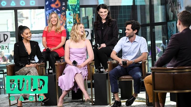 Penn Badgley, Shay Mitchell, Elizabeth Lail, Sera Gamble Caroline Kepnes Talk Lifetime's YOU