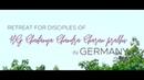 Retreat of HG Chaitanya Chandra Charan in Bad Oeynhausen, Germany | Guru Seva 2018