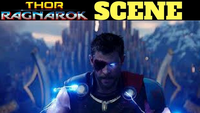 Thor Ragnarok Final Battle - Immigrant Song HD