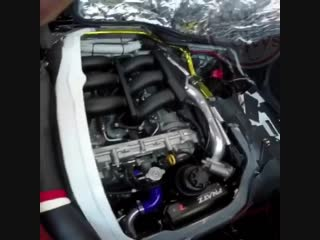 #Toyota Hiace with a R35 #Nissan #GTR Engine