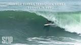 SUP Surfer Sebastian Gomez Scores in Peru