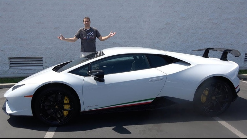 Вот почему Lamborghini Huracan Performante это лучшая Lambo в истории