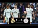 REAL MADRID VS AJAX 1-4 PETER DRURY Best Commentary All goals HIGHLIGHTS 5/3/2019