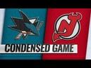 San Jose Sharks vs New Jersey Devils – Oct.14, 2018