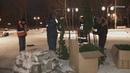 На Соборной горе установили новогоднюю елку