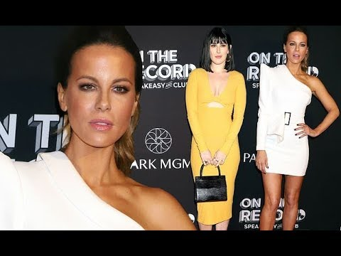 FOX TV - Kate Beckinsale leads glamour in white minidress at On The Record bash