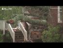 В Сети появилось видео обрушившегося на США урагана Флоренс