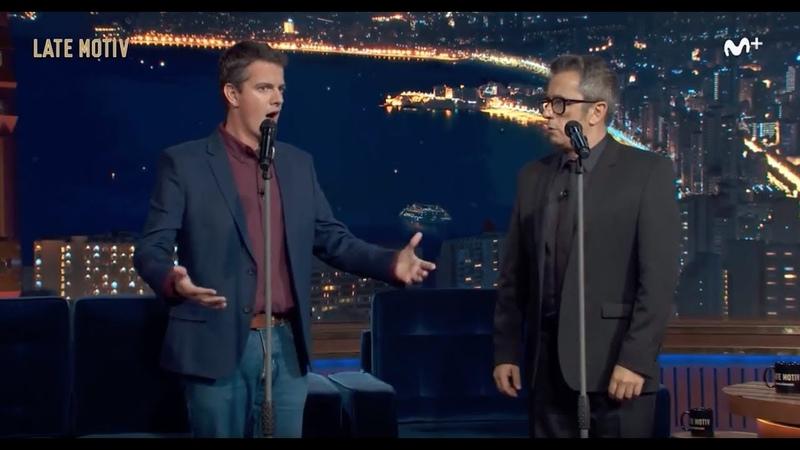 PHILIPPE JAROUSSKY Clase de canto a Andreu Buenafuente en 'Late Motiv 0 Movistar ' 30 10 2018