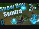 SkinSpotlights Snow Day Syndra Skin Spotlight League of Legends