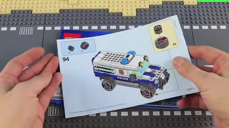 [Brick Builder] LEGO COMPILATION CITY Police Department 2019 sets - UNBOXING