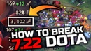 HAS DOTA 2 GONE TOO FAR? IS THIS EVEN DOTA ANYMORE? Axe 3100 Movement Speed - WTF 7.22 Patch Dota 2