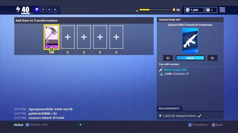 [Nyx] How to Farm Schematic XP in Fortnite - Fortnite Save The World