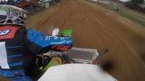 Sidecarcross race in Rokiski 1st heat 15.04.2017