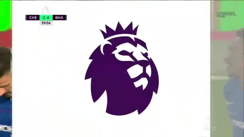 Челси 30 Брайтон энд Хоув Футбол. Англия. Премьер-лига Обзор матча (3 апреля 2019 в 2145)