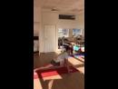 Видео со второго занятия в новой йога студии в Дмитрове ЙОЖ