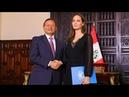Crise migratoire Angelina Jolie en mission au Pérou