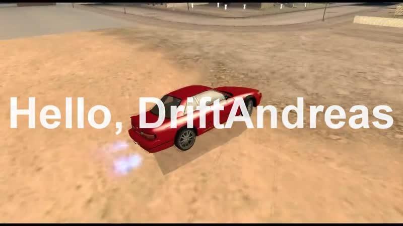 Hello, DriftAndreas