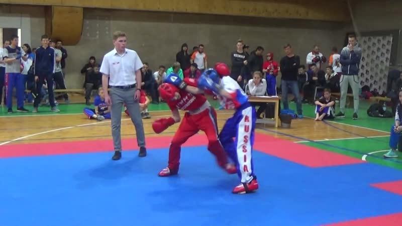 HightLights Кубок ЦОП Авангард по кикбоксингу - 2019г.