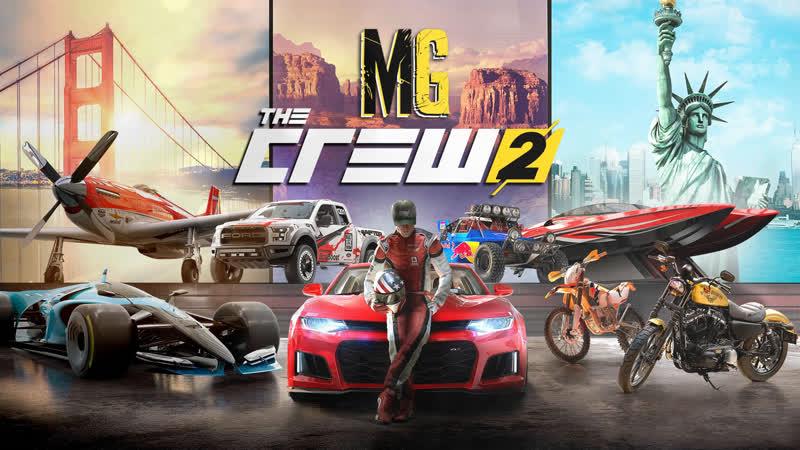 ► The Crew 2 {Gamepad} 3 → ТОПовые покатушки [i5/16GB/GTX1060GTX660/W7]