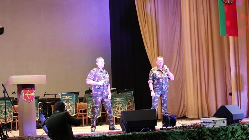 Группа СССР на торжественном мероприятии посвященном 25 летию Пинского погранотряда