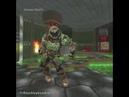 Doom Guy dancing orange justice in Dooms gate for 1 hour