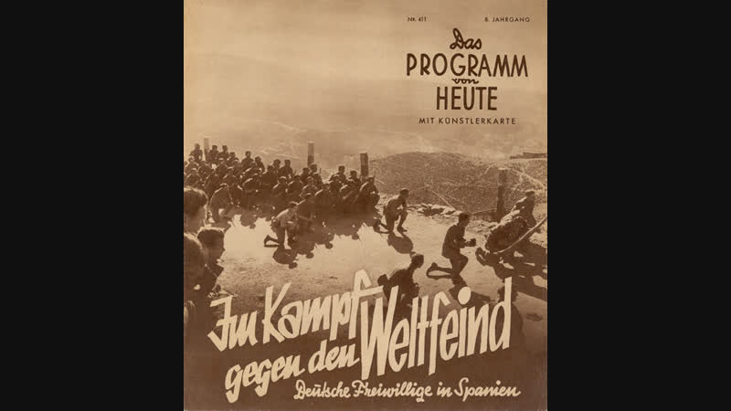 Im Kampf gegen den Weltfeind Deutsche Freiwillige in Spanien
