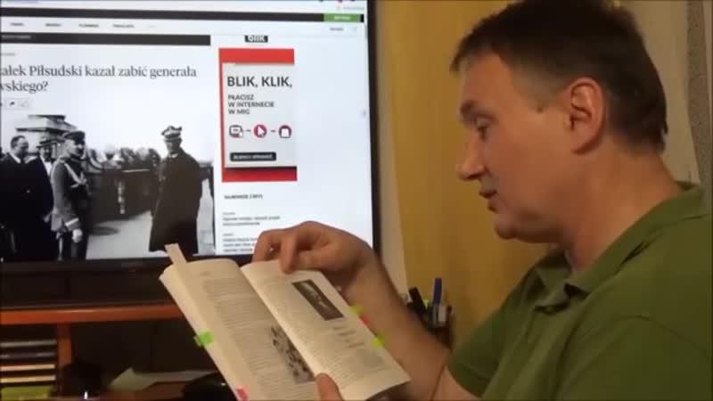 Dr Z. Kękuś (PPP 94) Lekcja historii dla prezydenta A. Dudy - 1. J. Piłsudski 2. CZERWONA ZARAZA