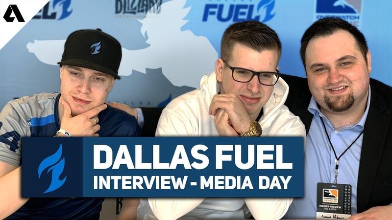 Интервью с Dallas Fuel Aero, aKm и rCk | Media Day